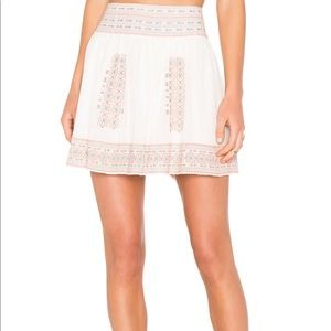 Join Embroidered Skirt